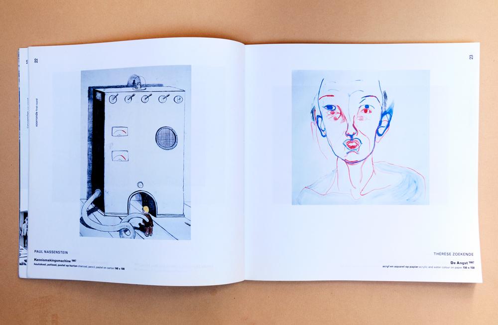 Catalogus-prix-de-rome-therese-zoekende-winner-acryl-en-aquarel-op-papier-de-angst-1997