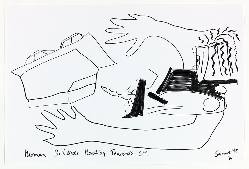 Therese-4-Zoekende-human-bulldozer-heading-towards-stedelijk-museum