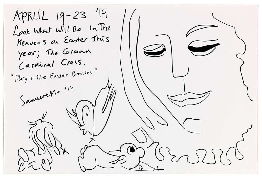 Therese-9-Zoekende-drawing-easter-bunnies